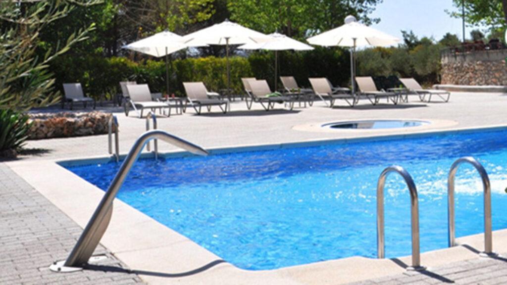 Foto de una piscina
