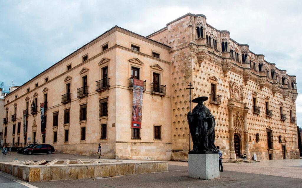 Foto del palacio del Infantado en Guadalajara